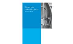 Closed Type Milk Cooling Tanks - Brochure
