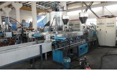 Purui - Model TSSK - Twin Screw Extruder for Master Batch Compounding
