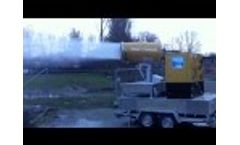 SprayCannon 60 Self Supporting Video