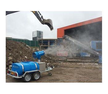 SprayCannon - Model 25 SS - Dust Cleaning Fog Machine
