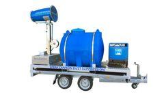 SprayCannon - Model 40 SS-M - Self-Supporting Dust Control Machine