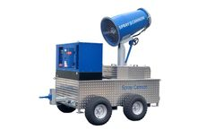 SprayCannon - Model 50 SS - Self-Supporting Dust Control Machine