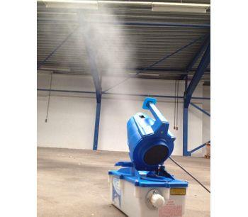 SprayCannon - Model 5 - Dust Cleaning Fog Machine