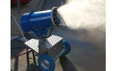 SprayCannon - Model 25 - Dust Cleaning Fog Machine