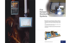 Fire Damper Monitoring Systems Brochure