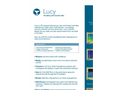 Ocean Sonics - Version Lucy - Hydrophone Software - Brochure