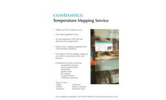 UKAS - Model 17025 - Accredited Temperature Mapping System Brochure