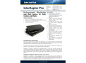 Jacarta InterSeptor - Model Pro - Environmental Monitoring and Alert System for Data Centres and Racks - Brochure
