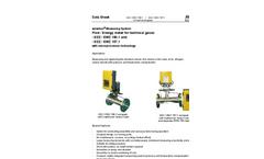 autarkon - Model EDZ 150.1 (157.1) - Differential Pressure Meter Brochure