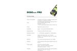 Sarad - Model DOSEman PRO - Radon Daughter Product Dosimeter - Specifications