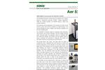 Aer - Model 5200 - Portable Alpha/Beta Continuous Air Monitor (CAM) Brochure