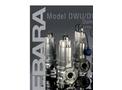 EBARA - Model DWU, DWXU - Dominator Sewage Pumps Brochure