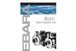 EBARA - Model DWO - Stainless Steel Open Impeller Centrifugal Pumps Brochure