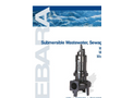 EBARA - Model DLFU - Submersible Cast Iron Wastewater Sewage Pump Brochure