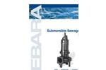 EBARA - Model DLU - Submersible Cast Iron Submersible Sewage Pump Brochure