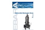 EBARA - Model DDLFU - Dry Pit Cast Iron Wastewater Sewage Pump Brochure
