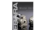 EBARA - Model CDU, CDX - Stainless Steel End Suction Centrifugal Pump Brochure