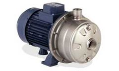 EBARA - Model 2CDXU, 2CDU - Stainless Steel Two Stage End Suction Centrifugal Pump