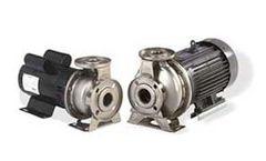 EBARA - Model 3U / 3UB - Stainless Steel End Suction Centrifugal Pump