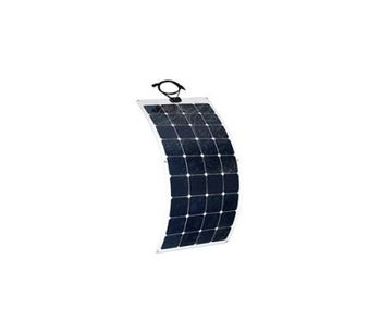 ALEKO - Model 12V - 50W - Monocrystalline Flexible Solar Panel