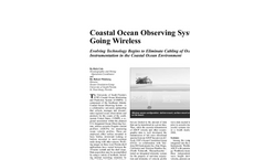 Coastal Ocean Observing Systems Going Wireless - Application Note