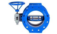 AB Valves - Butterfly Valve, Double Eccentric, F4  with B-Plan Disc
