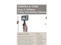 Model USAVS4-4-1500 4mm X 1500mm - 4-Way Articulating Portable Recording Videoscope System