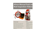 Model 40mm - Manual Push With Reel Inspection Videoscope System - Datasheet