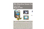 USA Borescopes - Model IRis - Mainline Sewer Camera - Brochure