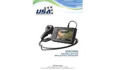 Model USA2000J - Portable Joystick Articulating Videoscope - Brochure