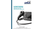 Model USA2000J - Portable Joystick Articulating Videoscope - Manual