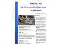 AMD 402 / 403 Resolution Mass Spectrometer Brochure