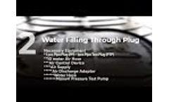 PlugCo   Pipe Plug Testing Guide as per EN 1610 - Part 2/3 - Video