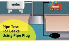 PLUgCo | Pipe Test For Leaks Using Pipe Plug