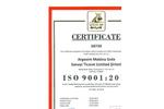 Plugco - Certificate of ISO 9001
