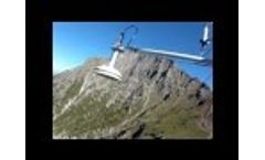 Mountain maintenance to meteo station Video