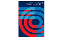 Model KV/VS - High Pressure Ring Suction Centrifugal Pump Brochure