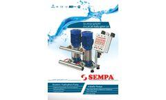 Model SPK - SPS - SPL - Booster Pump Brochure