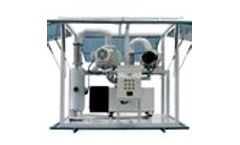 Model ZJ - Two Stage Vacuum Pumping System for Transformers