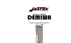 DEMIWA - Model ro, roi, ros, rosa - Purified Water System Brochure