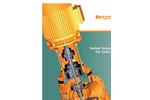 Vertical Turbine Pump Datasheet