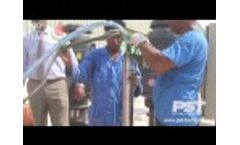 Anti-Sable PST Technology - Seawater test 2014 - Video