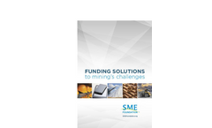 Funding Solutions to Mining's Challenges Brochure