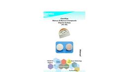 ChemWipe Mercury & Mercury II Compounds Wipe for Surfaces Manual