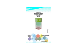 Hydrazine Breakthrough Indicator for Carbon Absorbers Manual