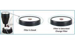 Model BTIS LFF - Hydrocarbons Vapors Filter Exhaustion Indicator