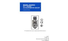 Model SA6200A - General Purpose Accelerometer Broucher