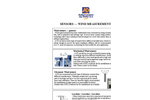 Wind Sensors  Brochure