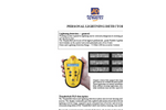 Personal Lightning Detector Brochure