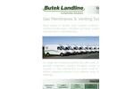 Butek Landline Gas Membranes & Venting Systems Datasheet